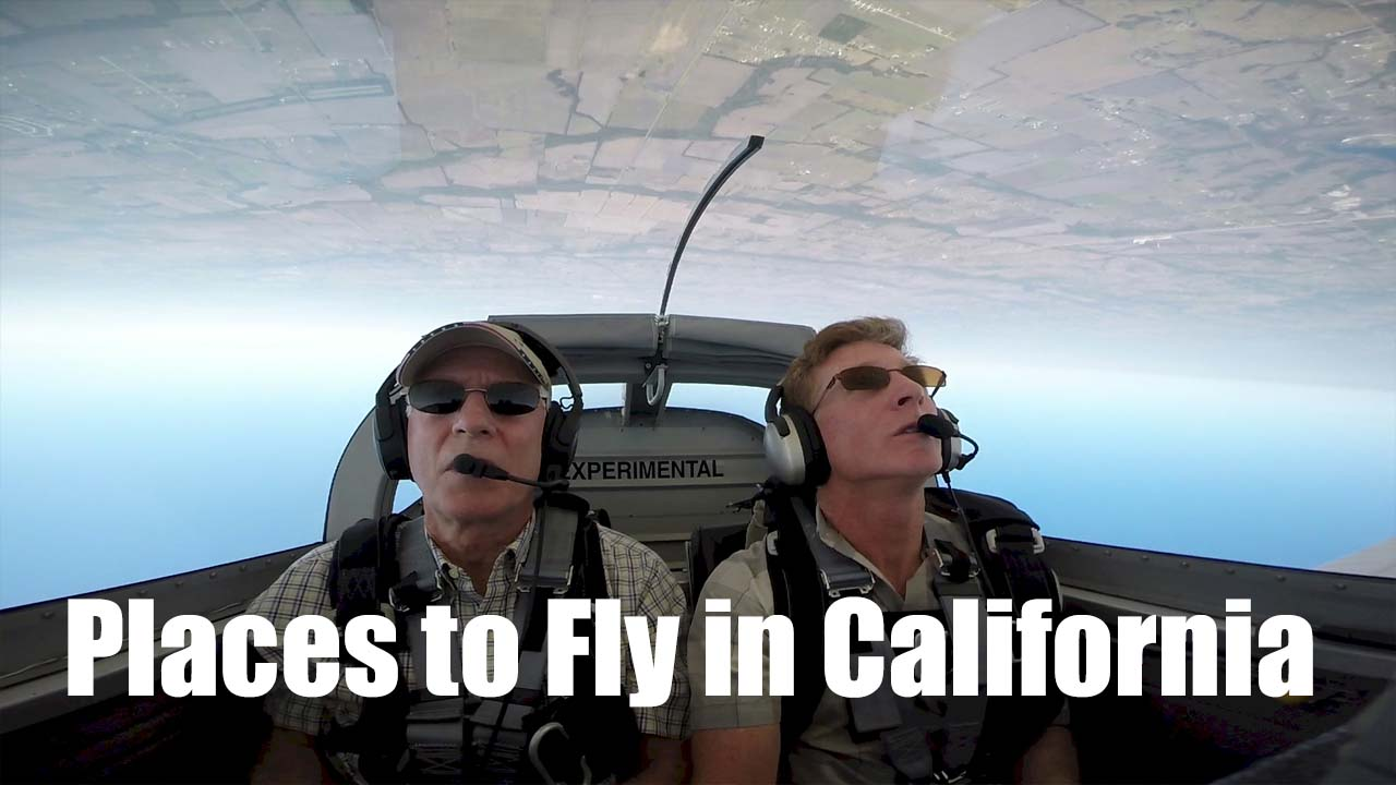 Fun Places to Fly in California