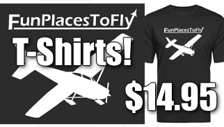 Official FunPlacesToFly T-Shirts!