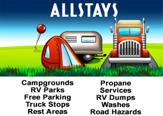Over 37,000 Campgrounds for recreational vehicles rving