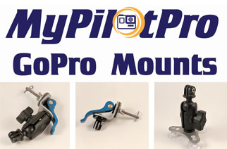 MyPilotPro GoPro Garmin Camera Mount